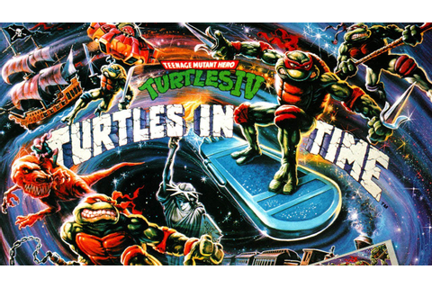 CGRundertow TEENAGE MUTANT NINJA TURTLES IV: TURTLES IN ...