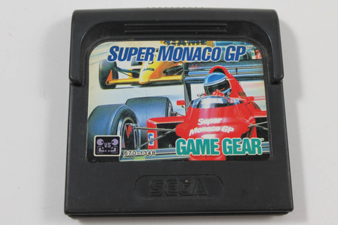 Super Monaco GP - Sega Game Gear