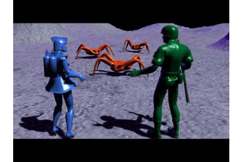 Army Men Toys In Space Act 2 Cut-Scene - YouTube