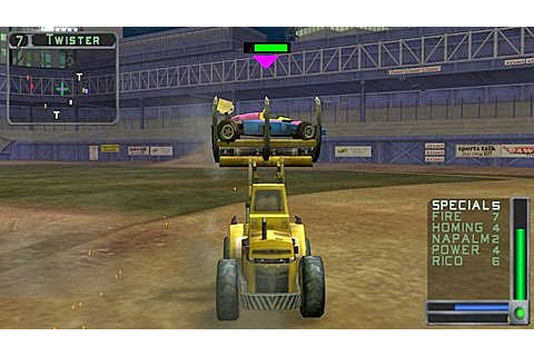 Twisted Metal Head On ISO PPSSPP - isoroms.com