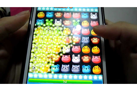 【Mobile game】playing anipang. English Version of the game ...