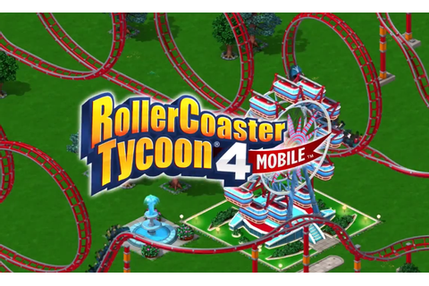 RollerCoaster Tycoon 4 Mobile for iOS is now available for ...