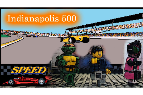 GEEKGO Episode 17 Indianapolis 500 The Simulation Dos Game ...