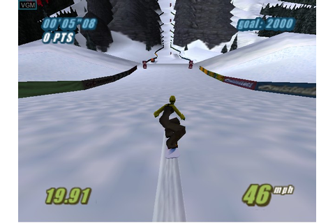 Twisted Edge Extreme Snowboarding for Nintendo 64 - The ...