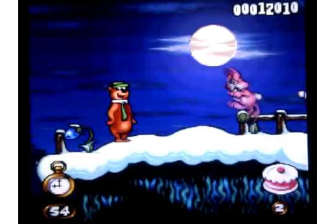 15 minutes of game - Yogi Bear's Cartoon Capers - SNES ...