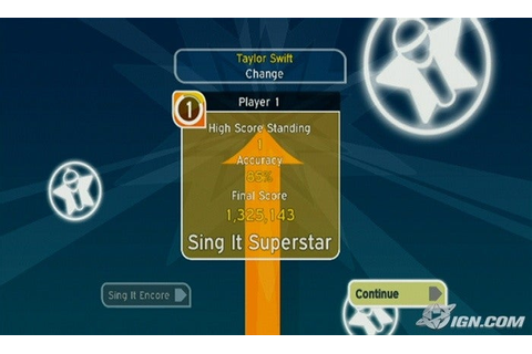 Disney Sing It: Pop Hits Screenshots, Pictures, Wallpapers ...