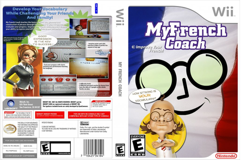 My French Coach - Nintendo Wii Game Covers - My French ...