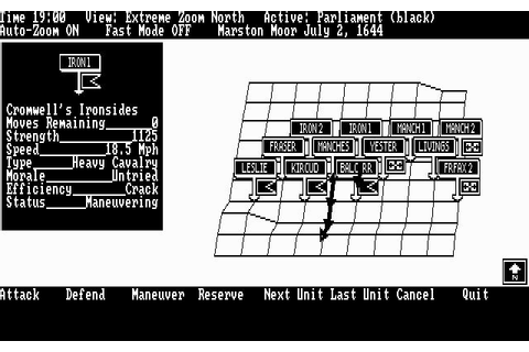 UMS (a.k.a. Universal Military Simulator) Download (1987 ...