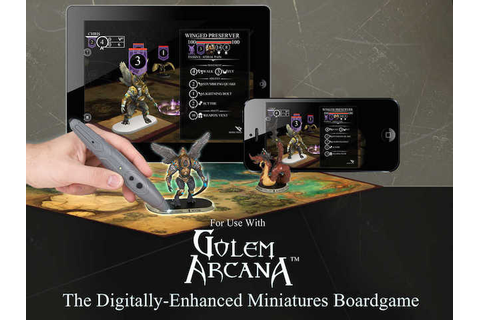 Gen Con 2015: Golem Arcana Offers a Mix of Board, Mobile ...