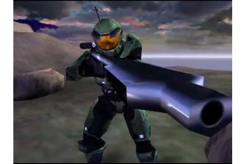 Halo: Combat Evolved E3 2000 trailer - YouTube