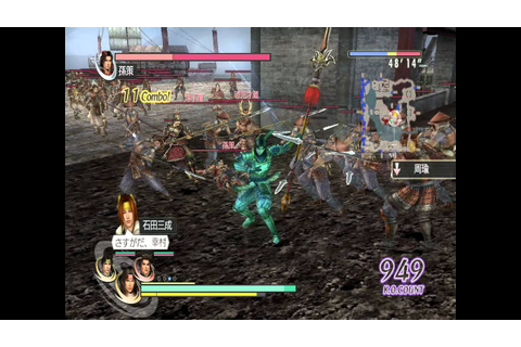 musou orochi Z special team attack - YouTube