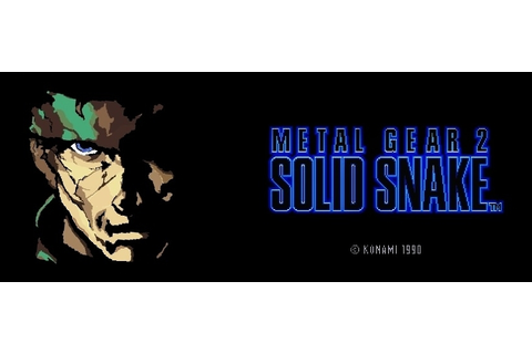 Metal Gear 2: Solid Snake (MS Paint) by nolanb13 on DeviantArt