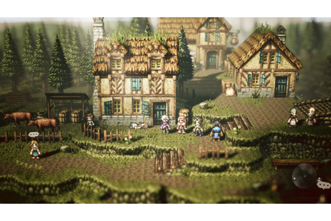 Octopath Traveler review: Eight short games about JRPGs
