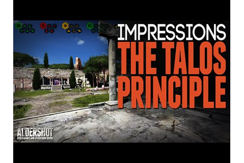 The Talos Principle: Impressions (Indie game puzzler ...