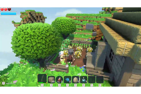 Portal Knights Villainous Gameplay (PC Game) - YouTube