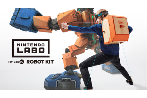That Nintendo Labo Robot Game Looks Awfully Familiar