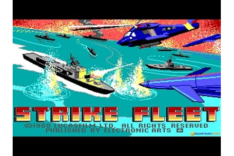 Strike Fleet gameplay (PC Game, 1987) - YouTube