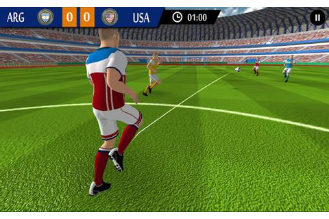Real football game: World football 2015 for Android ...