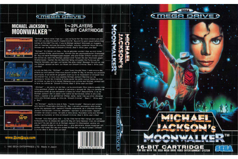 Michael Jackson's Moonwalker Art Resources – Sega Made Bad ...