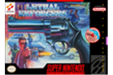 Lethal Enforcers Complete SNES Game For Sale | DKOldies