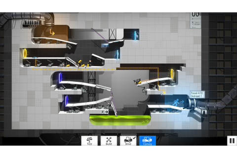 Bridge Constructor Portal review: A clever mashup of ...