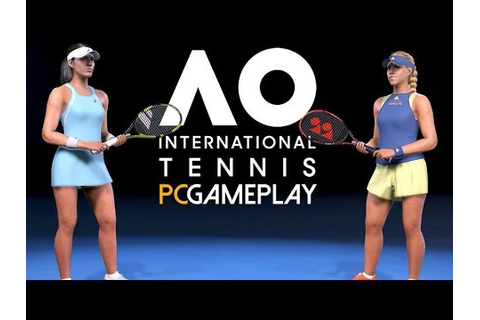 AO International Tennis Gameplay (PC HD) - YouTube