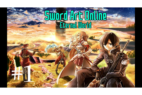 Sword Art Online (Video Game): Part 1 - Link Start - YouTube