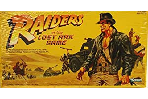 Amazon.com: Kenner Raiders of the Lost Ark Game: Toys & Games