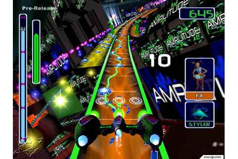 Amplitude Sony Playstation 2 Game