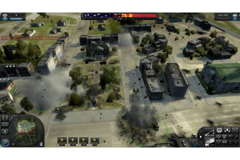 World in Conflict - Online Gameplay - YouTube