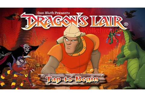 Dragon's Lair Walkthrough - YouTube