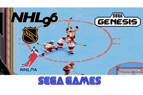 NHL 96 (Quick Gameplay) Sega Genesis - YouTube