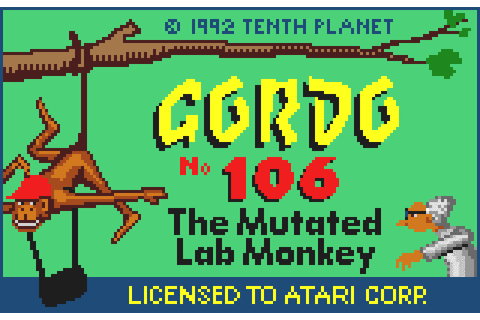 Super Adventures in Gaming: Gordo 106 (Lynx)