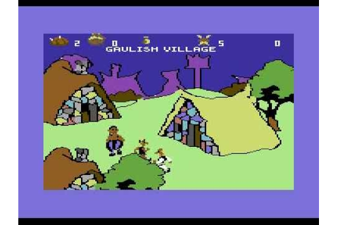 Asterix and the Magic Cauldron - Commodore 64 - YouTube