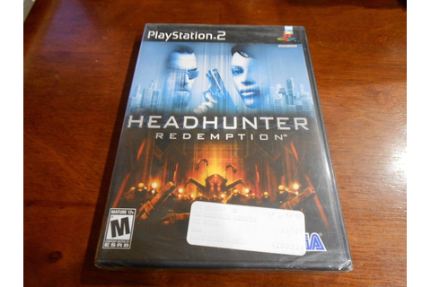 HEADHUNTER REDEMPTION Playstation 2 PS2 Game NEW SEALED ...