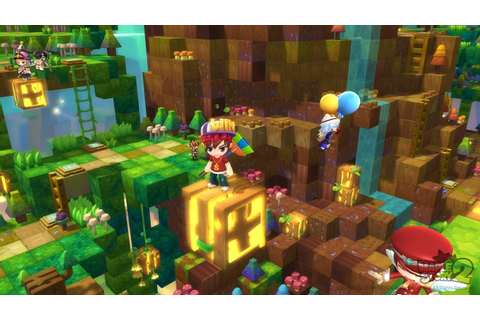 Gameplay from Maplestory 2's Alpha Showcases Early Combat ...