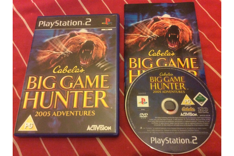 Games - PS2 CABELAS BIG GAME HUNTER 2005 ADVENTURES / BID ...