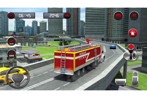 Rescue Fire Truck Simulator (by Prism apps and Games ...