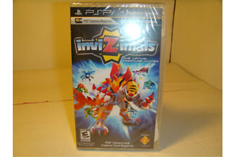 NEW-SEALED-PSP-Video-Game-INVIZIMALS-GAME-ONLY-Capture ...