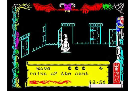 Dragontorc Walkthrough, ZX Spectrum - YouTube