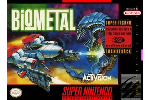 Biometal SNES Super Nintendo