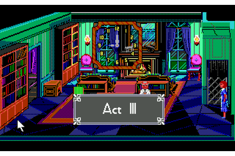 The Adventure Gamer: Game 34: The Colonel's Bequest - The ...
