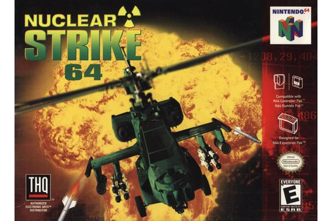Nuclear Strike 64 Nintendo 64 Game