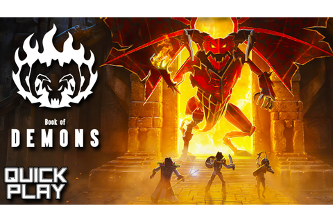 Book of Demons Gameplay - Hack and Slash Nostalgia! Steam ...