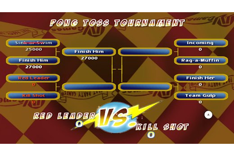 Pong Toss Pro - Frat Party Games Review (WiiWare ...