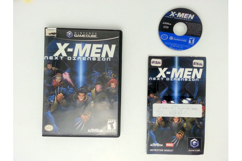 X-men Next Dimension game for Nintendo Gamecube -Complete ...