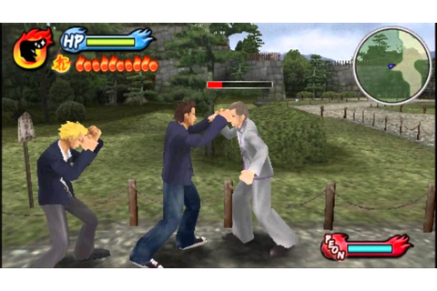 Kenka Bancho Badass Rumble (PSP) gameplay part 1 - YouTube