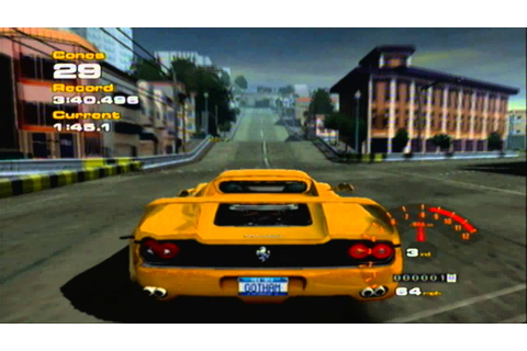 Project Gotham Racing Free Roam Gameplay (Xbox) - YouTube