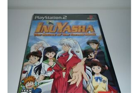InuYasha the secret of the cursed mask ps2 game pre owned ...