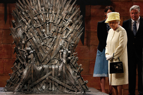 Game Of Thrones' Iron Throne valued at £10m